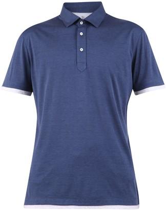 Brunello Cucinelli Contrasting Trim Polo Shirt