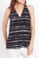 Vince Shadow Stripe Tank