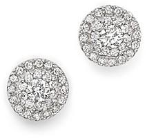 Bloomingdale's Diamond Halo Stud Earrings in 14K White Gold, 0.75 ct. t.w.