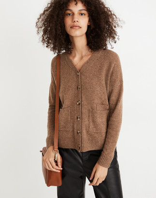 Madewell Donegal (Re)sourced Cashmere Ex-Boyfriend Cardigan Sweater