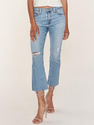 AG Jeans Jodi High Rise Flare Crop Jean