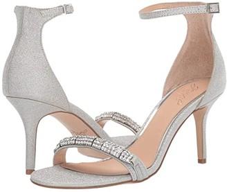 Badgley Mischka Randy (Light Gold) Women's Shoes