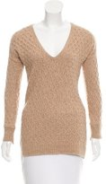A.L.C. Wool-Blend V-Neck Sweater
