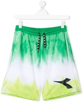Diadora Junior TEEN tie-dye track shorts