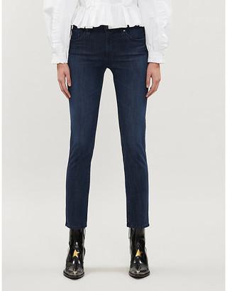 AG Jeans Ladies Dark Blue Prima Slim Cigarette Mid-Rise Jeans, Size: 24