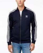 adidas Men's Superstar Zippered Track Jacket