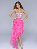 Nina Canacci - 7016 Dress in Bubblegum