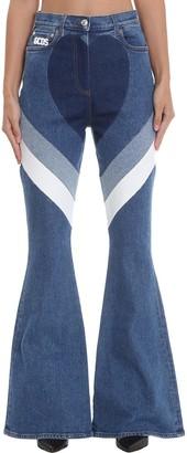 GCDS Jeans In Blue Denim