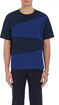 TOMORROWLAND MEN'S COLORBLOCKED JERSEY T-SHIRT-NAVY SIZE M