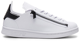Yohji Yamamoto Stan Zip in White. - size UK 11.5 / US 12 (also in )