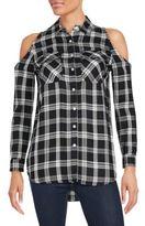 Saks Fifth Avenue RED Finley Cold Shoulder Shirt