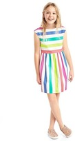 Gap Bold stripe cap dress