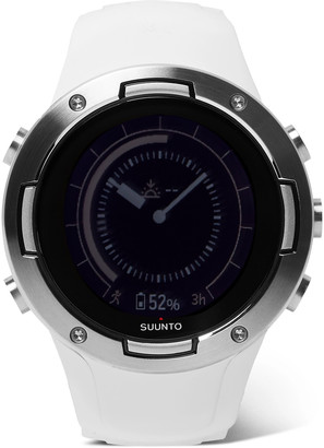 Suunto 5 G1 Gps 46mm Stainless Steel And Silicone Digital Watch