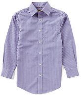 Class Club Gold Label Big Boys 8-20 Checked Long-Sleeve Button-Down Shirt