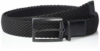 Calvin Klein Men's Woven Web Belt with Stretch