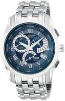 Citizen Eco-Drive Calibre 8700 Perpetual Calendar Alarm Bracelet Mens Watch