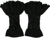 Andrea Bogosian knit cuffs