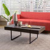 Christopher Knight Home Kian Sonoma Oak Hardwood Rectangle Coffee Table