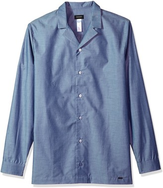 Hanro Men's River Long Sleeve Chambray Shirt