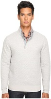 Jack Spade Quilted Mock Neck Snap Pullover Men's Sweater