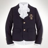 Ralph Lauren 7-16 Classic Wool Blazer