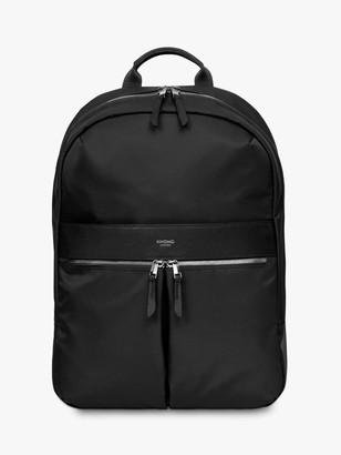 Knomo Mayfair Beauchamp 2.0 Backpack for 14 Laptops, Black