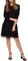 Sanctuary Women's Sophie Lace Skirt Sweater Dress