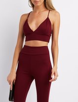 Charlotte Russe Strappy Crop Top