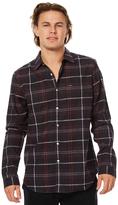 RVCA Vooks Long Sleeve Mens Shirt Grey