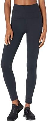 Manduka Renew Pocket Legging (Black) Women's Casual Pants