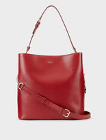 DKNY Sutton Textured Leather Large Bucket Bag