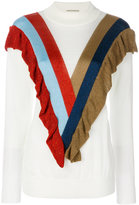 Marco De Vincenzo colour block top - women - Polyamide/Polyester/Acetate - 42