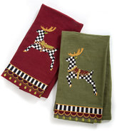 Mackenzie Childs MacKenzie-Childs Prancer Guest Towels, 2-Piece Set