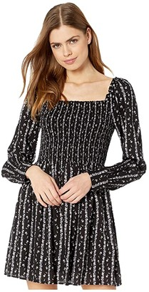 Paige Palmetto Dress (Black/Granite) Women's Dress
