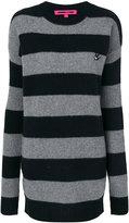 McQ by Alexander McQueen striped sweater dress - women - Cashmere/Wool - XS
