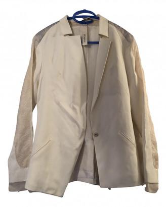 Anne Valerie Hash Ecru Synthetic Jackets