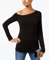 INC International Concepts Asymmetrical Top, Created For Macy's
