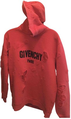 Givenchy Red Cotton Knitwear & Sweatshirts