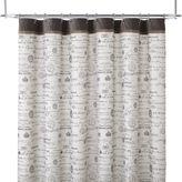 Asstd National Brand Edwardian Script Shower Curtain