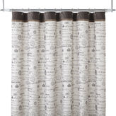 JCPenney Edwardian Script Shower Curtain
