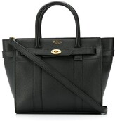 Mulberry mini zipped Bayswater tote