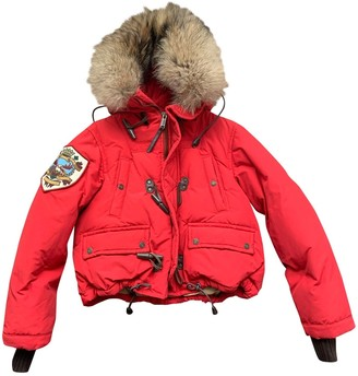 DSQUARED2 Red Fox Coat for Women