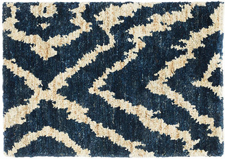 Dash & Albert Sahara Jute Rug - Blue/Natural 5'x8'