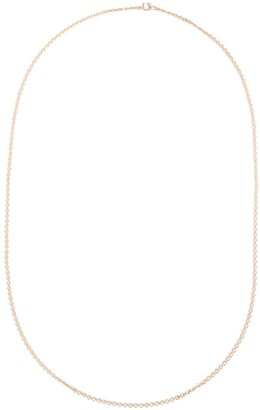 Irene Neuwirth 18kt Rose Gold Oval Chain Necklace