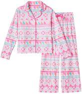 Girls 4-16 SO® Pattern Pajama Set