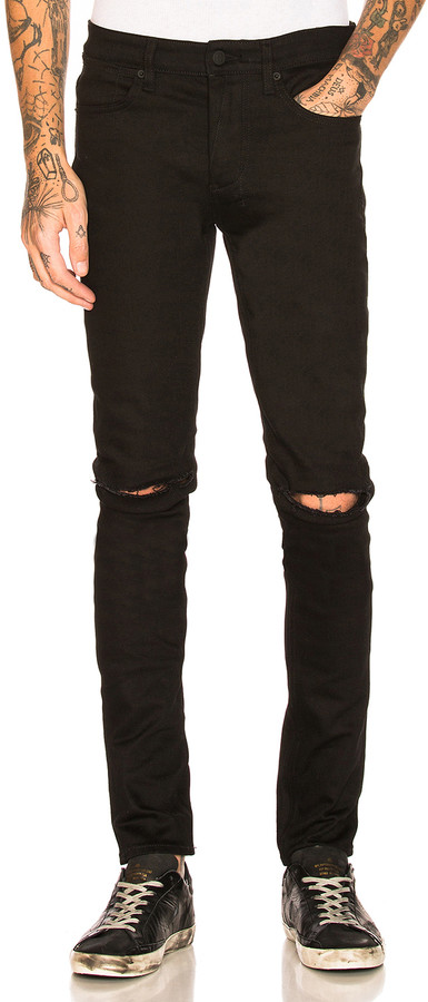 Ksubi Van Winkle Ace in Black Slash | FWRD