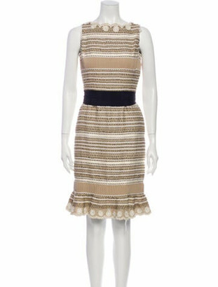 Oscar de la Renta 2006 Knee-Length Dress