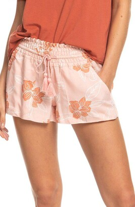 Roxy Oceanside Floral Print Shorts