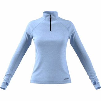 adidas Terrex Tracerocker Women's Fleece- AW19 - Large Blue