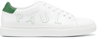 Paul Smith Logo Patch Lace-Up Trainers